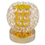 Crystal Chandelier Round Ball Shape Dimmer Control