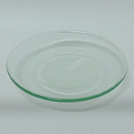 A-D4RCL SMALL CLEAR ROUND DISH