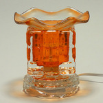 Solid - Colored Crystal Glass Oil Warmer
