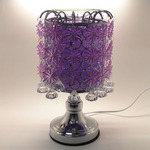 Purple Crystal Touch Oil Warmer
